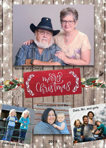 Christmas Card Sample